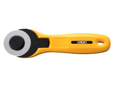 Rollschneider OLFA 45 mm - gelb