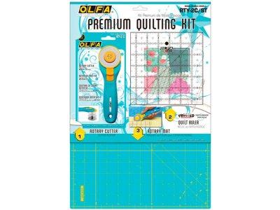 Premium Quiltset OLFA - Aqua
