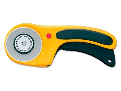 Rollschneider OLFA Safety Lock 60 mm - gelb