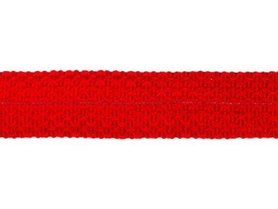 Einfasstresse Wolle 32 mm - Wellenmuster - rot