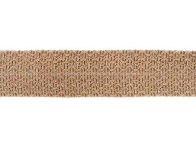 Einfasstresse Wolle 32 mm - Wellenmuster - schlamm
