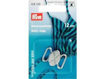 Prym Bikini- und Gürtelverschluss 12mm - silberfarben