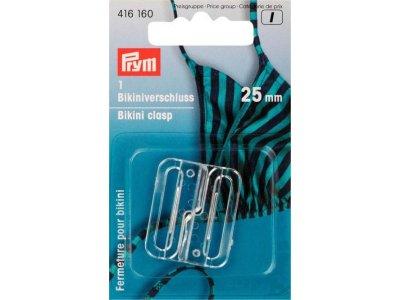Prym Bikini- und Gürtelverschluss 25mm - transparent