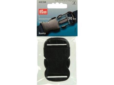 Prym Steckschnallen 30mm - schwarz