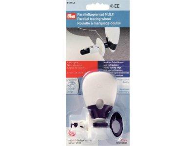 Prym Parallelkopierrad Multi ergonomic - weiß