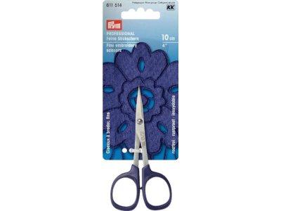 Prym PROFESSIONAL Stickschere fein 4'' 10 cm - lila