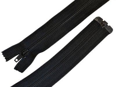Reißverschluss  YKK teilbar 48 cm - schwarz
