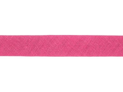 Hochwertiges Schrägband Baumwolle gefalzt 20 mm - uni altrosa