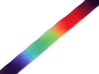 Endlos-Reißverschluss 5mm - Regenbogen