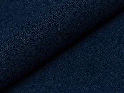 Elastischer Jeansstoff - dunkles blau