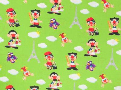 Popeline orig. Efteling Pardoes in Frankreich grün