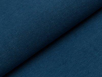 Elastischer Jeansstoff - jeans blau