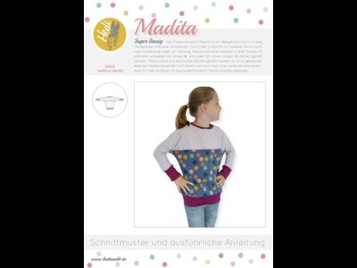Papierschnittmuster Hedi - Shirt Madita - Mädchen