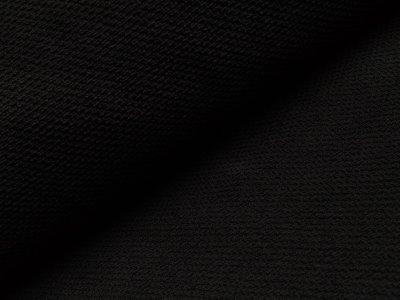 Waffelpiqué bébé Baumwolle - schwarz