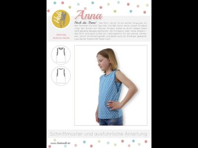 Papierschnittmuster Hedi - Shirt Anna - Mädchen