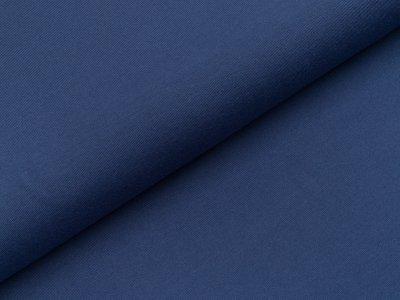 Jersey uni - blau