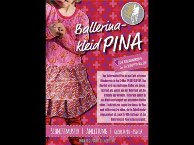 Papierschnittmuster Hedi - Ballerinakleid Pina - Mädchen