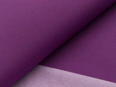 Jackenstoff Softshell - dunkles lila/lila