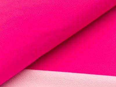 Jackenstoff Softshell - pink/helles rosa