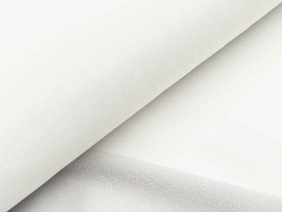 Jackenstoff Softshell - wollweiß/helles grau