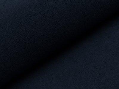 Baumwollfleece - uni  marine