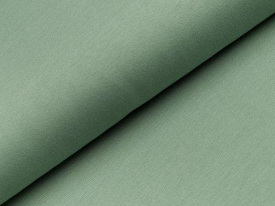 Leicht angerauter Sweat - uni altgrün