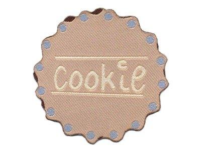 Serie Muffin/Cookies Applikation beige z. Aufbügeln