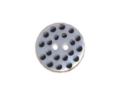Perlmuttknopf mit Mini-Dots 17 mm