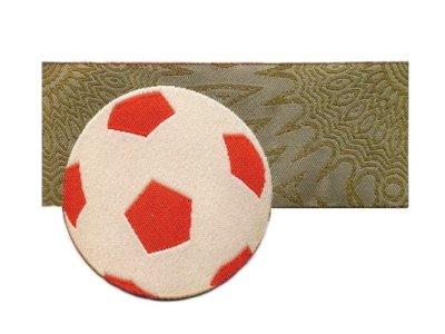 "Applikation Serie ""GOOAL"" Fußball khaki"