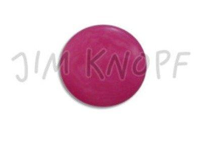 Echt Steinnuss, runder Knopf 15mm pink
