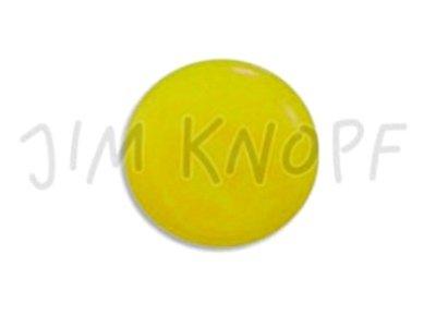 Echt Steinnuss, runder Knopf 15mm gelb