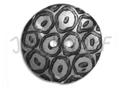 "Jim-Knopf Perlmuttknopf ""Agoya-Laser-Design"" 35mm natur"
