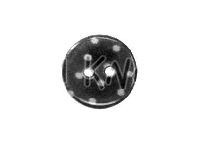 """Knopf """"Pünktchen"""" mittel 15mm schwarz"""