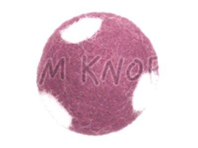 "Jim-Knopf Filz-Applikation ""Großer Punkte-Ball"" 3cm rose"