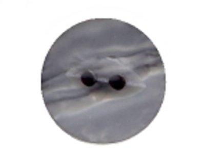 Runder Knopf 15mm grau