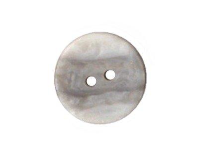 Runder Knopf 20 mm grau