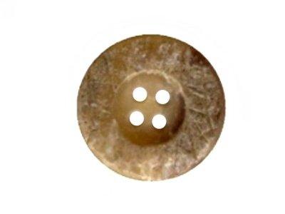 Runder Knopf 23 mm beige
