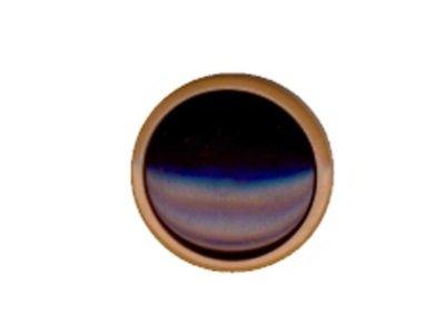 Runder Knopf, beige, 20mm
