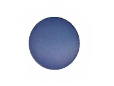 Runder Knopf blau matt, 15mm