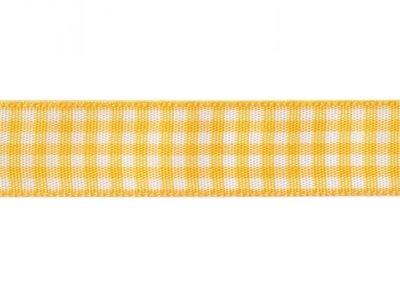Vichy Dekoband 15mm gelb