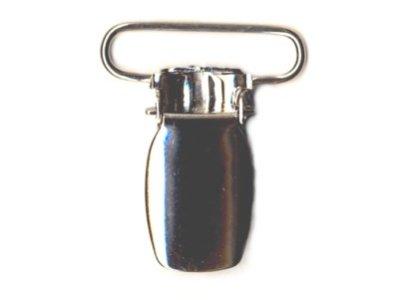 Träger-Clip silber 24 mm