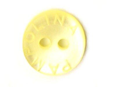 Pampolina-Knopf gelb 12mm