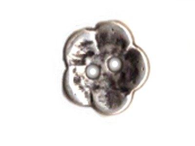 Metallknopf Blüte 15 mm