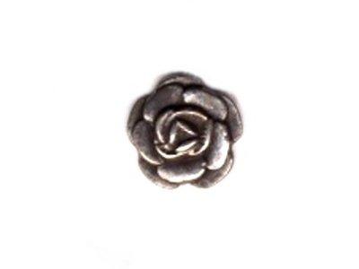 Metallknopf Rose 12 mm