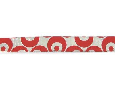 Kunststoffband für Halsbänder, Leinen & Gürtel silber