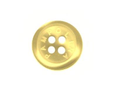Pampolina-Knopf gelb 15mm