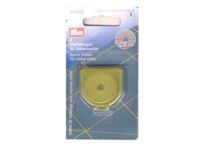 Ersatzklinge 2er-Set Prym für Rollschneider Mini 28 mm