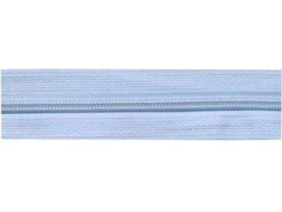 Endlos-Reißverschluss hellblau