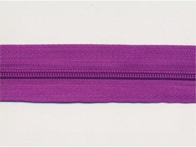 Endlos-Reißverschluss violett
