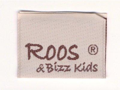 Roos & Bizz Kids Webetikett beige